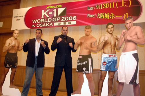 GBR>ニュース>【K-1】9・30「一撃チーム」レイ・セフォーとグラウベ ...